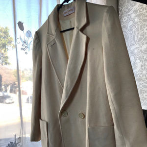 Larry Levine long coat made in USA